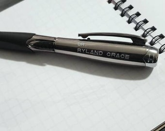 Project Hail Mary fandom pens, (bundle of two!), Light up, Dr Ryland Grace, PHM, Astrophage, Rocky