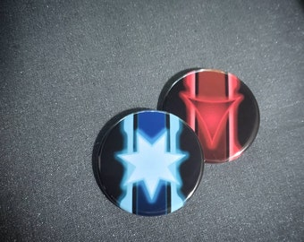SWTOR Buttons, dark side and light side, badge, pin, Star Wars The Old Republic, TOR