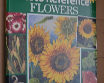 Artist's Photo Reference book - Flowers - Over 500 Photos