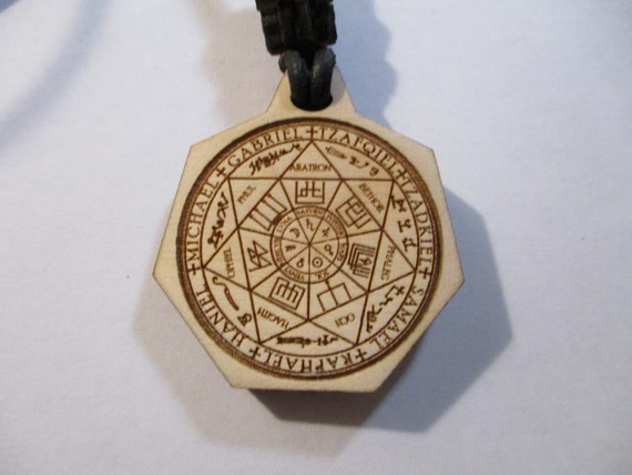 Seal of Seven Archangels / Angelic Magick Pendant Necklace
