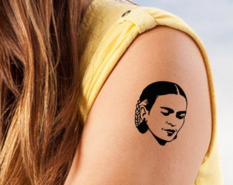 6c788aaa6 Frida Kahlo Perfect Beauty - Temporary Tattoo - Set of Two