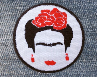Frida Kahlo Cejas iron-on patch - patches for jackets