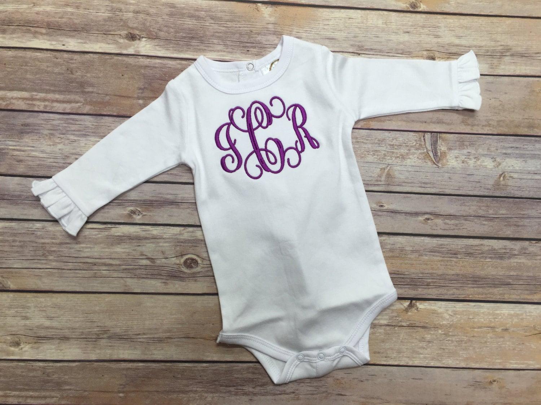 Baby Girl bodysuit, Personalized bodysuit, Baby Girl gift, Welcome ...