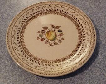 Johnson Bros., Staffordshire Old Granite, Fruit Sampler, Salad Plate 8 1/8 inches