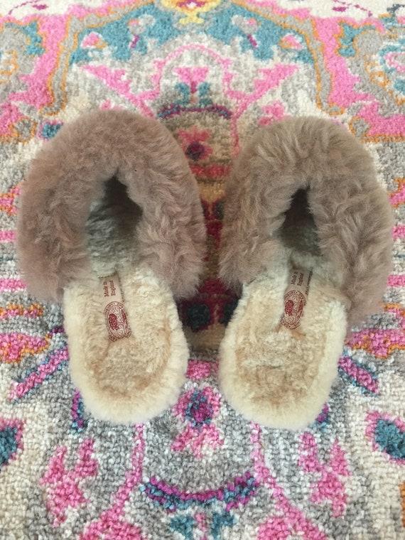 Slippers, Vintage, Draper Glastonbury, Made in En… - image 7