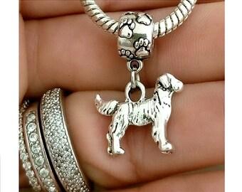 Golden Retriever Bangle Bracelet in Stainless Steel Golden Retriever Golden Retriever Jewelry Dog Bracelet Golden Retriever Gifts Golden Retriever Mom