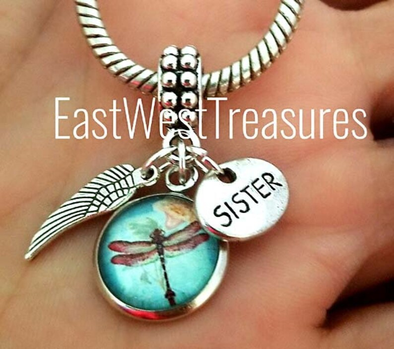 Memory Loss memorial of My Brother angel pendant Bracelet necklace Sympathy