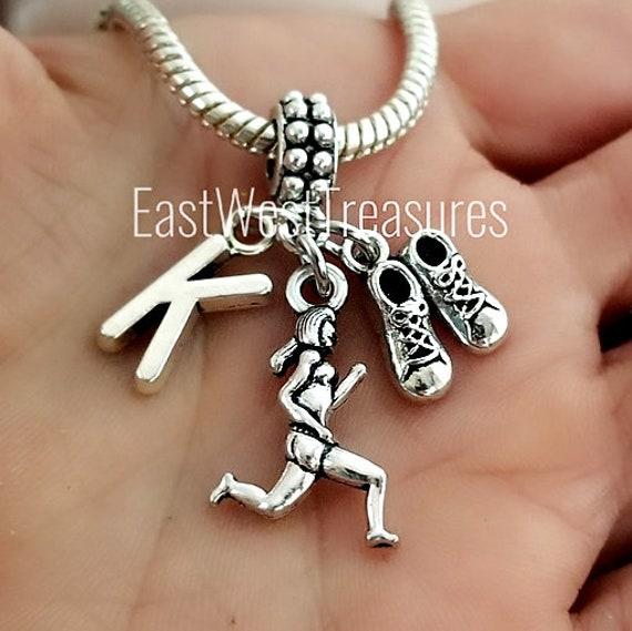 pandora bracelet running charm