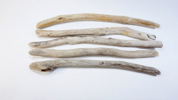 4 Sturdy Driftwood  11.4-16.129-41cm Old Looking Driftwood Sticks Beach Crafts Sticks,Mobile Supplies #56S