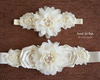 a177f639bb Flower girl sash