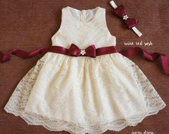 51311b4494c9 Baby lace dress