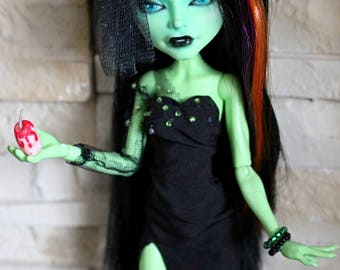 SALE!!! Monster High OOAK doll green witch