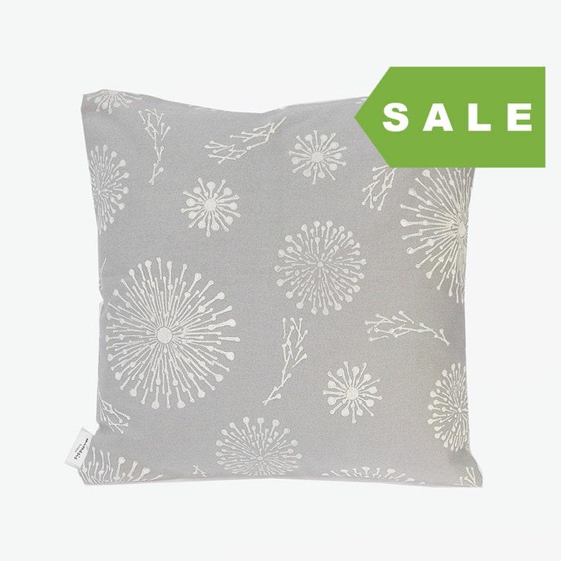 grey flowers cushion cover hand printed grey pillow grey nordic cushion cover block printed cushion cover block printed grey cushion