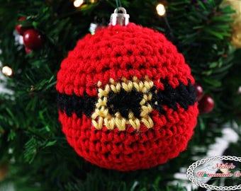 Crochet Pattern: Santa Belt Christmas Ornament *easy *fast *bauble *pdf download *beginner *tree