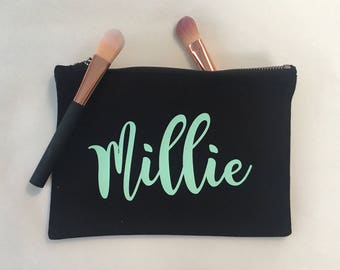 Medium Wash Bag / Cosmetic Bag / Toiletries Bag / Pencil Case Personalised