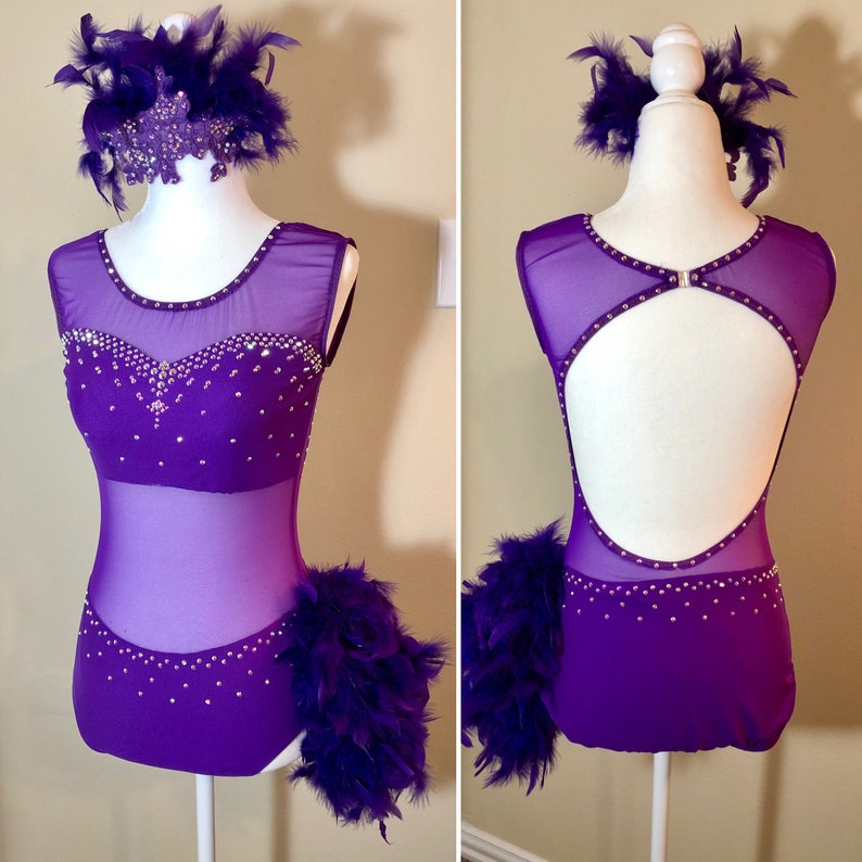 Custom order dance costume Contact us for pricing and to place a special order Made to order.