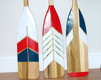 Painted Oar Etsy
