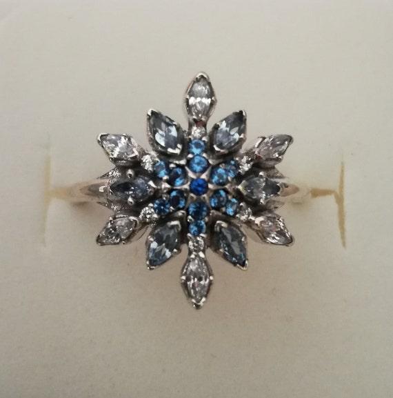 anello fiocco di neve pandora
