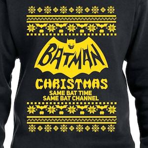 popular items for batman christmas sweater