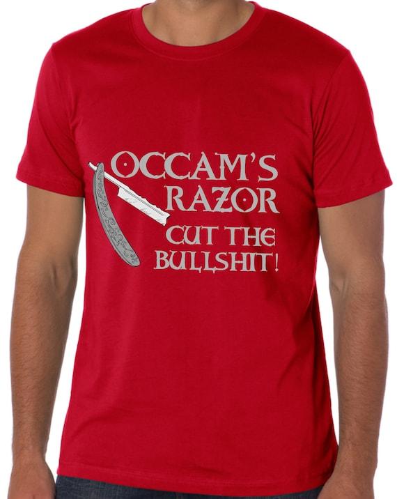 Occams rasoir T Shirt coupe les chemise conneries chemise les TH391 5dff1f