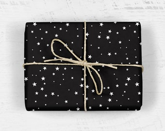 The Zodiac Star Signs Wrapping Paper Scrapbooking Paper Celestial Birthday Wrap 3 Folded Sheets of Constellation Illustrated Gift Wrap