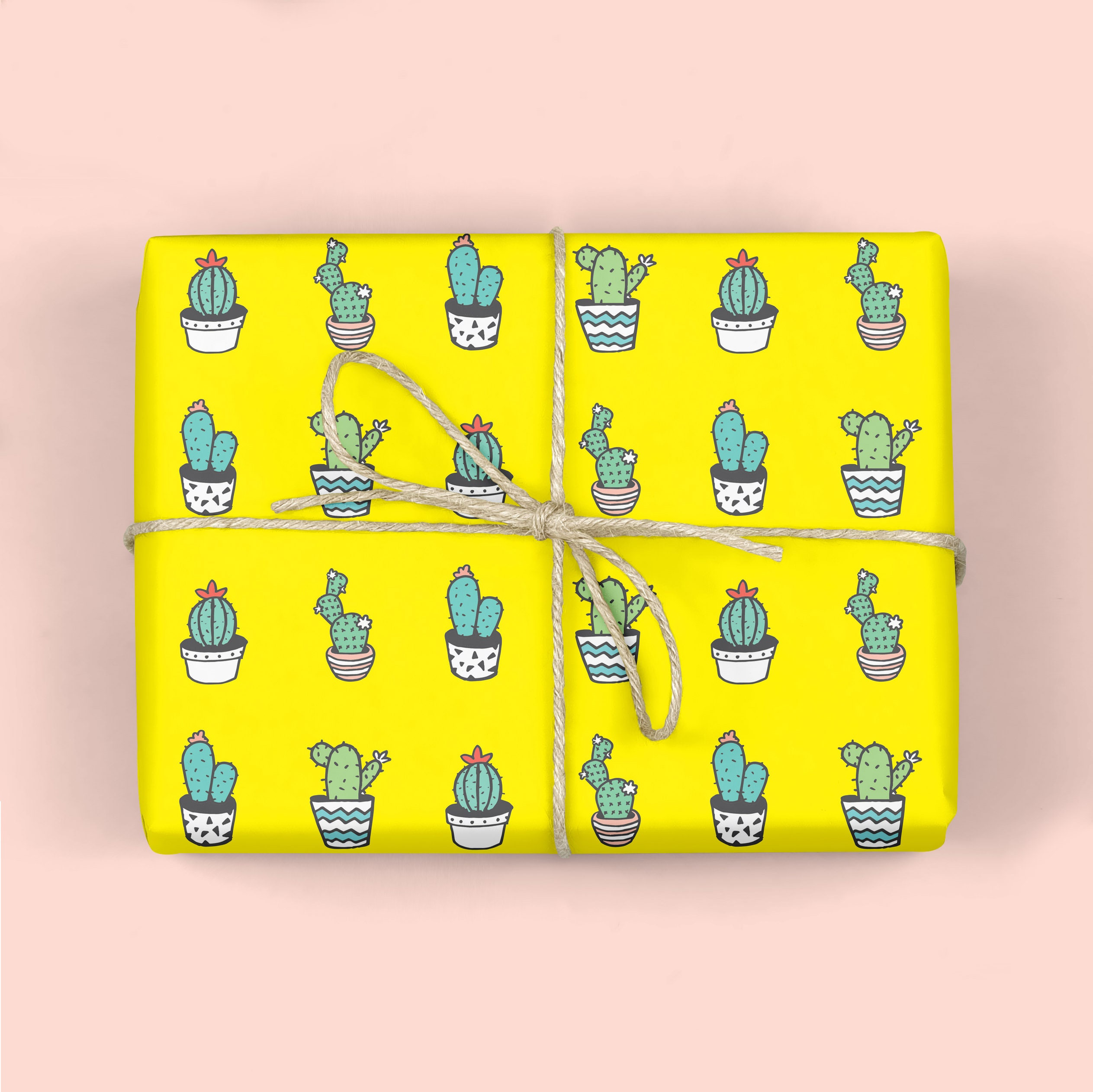 SUCCULENTS Wrapping Paper,Modern gift wrap,DIY wall Art,Craft ...