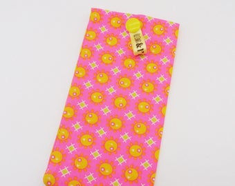 Storage bag/Fluorescent Pink