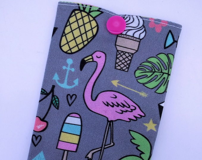 Storage case / pop pink Flamingo