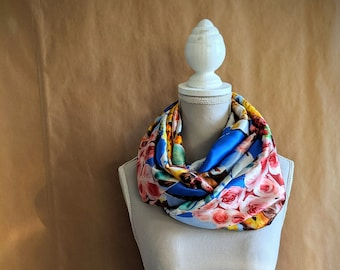 Silk Snood, Pop flowers