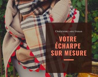 Order a custom-made wool scarf