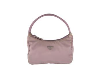 0313de6dc5b7c Authentische PRADA Tessuto Sport Lavendel Mini Hobo
