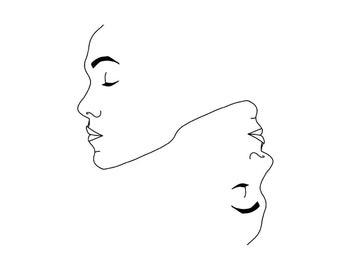 Minimalist Digital Illustration