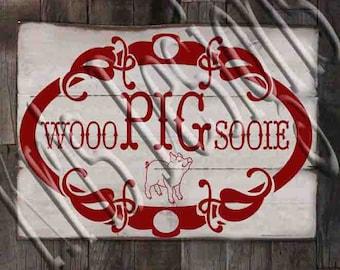 Woo Pig Sooie PNG JPG SVG