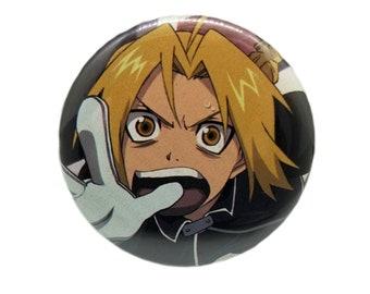 2.25-Inch Edward (Full Metal Alchemist) Pin-Back Button