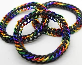 Stretchy Chainmail Bracelet