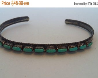 On Sale Turquoise Native American Bracelet