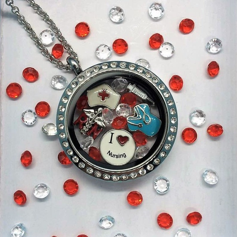 53b2c7925e5 The RN Locket-Creatively Crafted Floating Lockets-The Copper   Etsy
