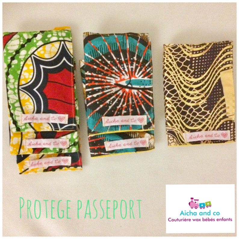 Prot\u00e9g\u00e9 Passport red yellow green wax