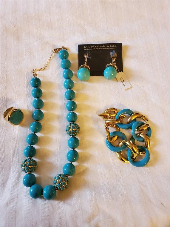 Kenneth Jay Lane jewelry set