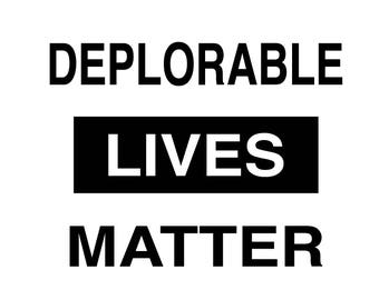 Deplorable Lives Matter, america svg, patriotic svg, patriotic cut file, patriotic file, fourth of july svg, 4th of july svg, commercial use