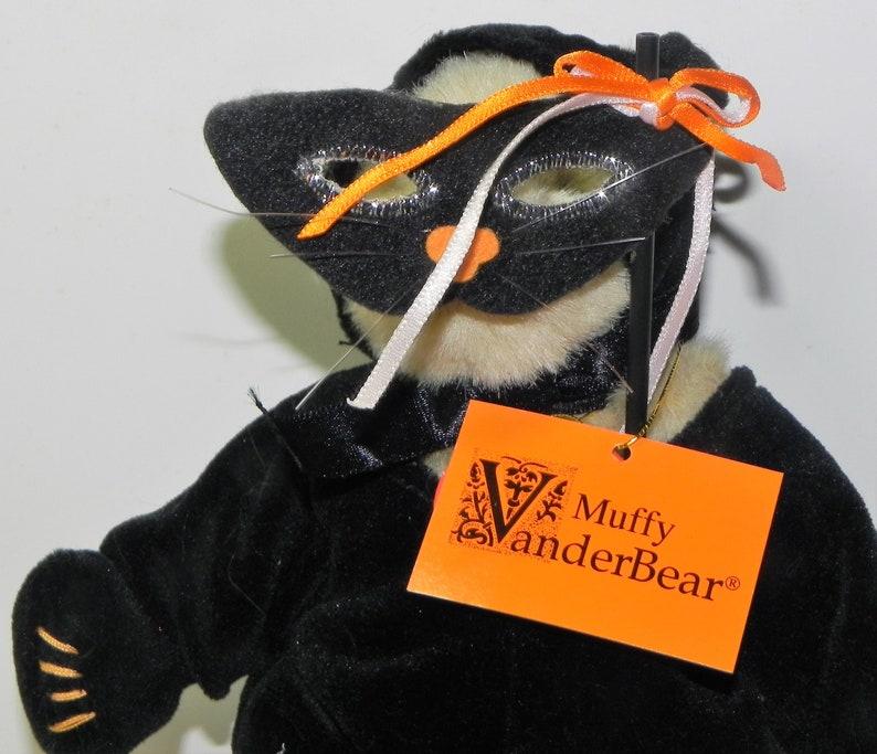 Muffy Vander Bear Halloween Black Cat