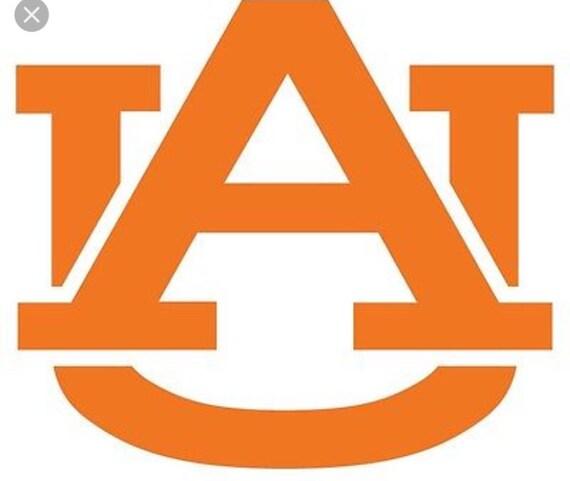 auburn university logo sticker etsy rh etsy com auburn university logo font auburn university logo font