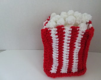 Play Food Popcorn, Play Kitchen Food, Pretend Play Food, Kids Toy, Popcorn, Fake Food, Gift For Children, Pretend Play