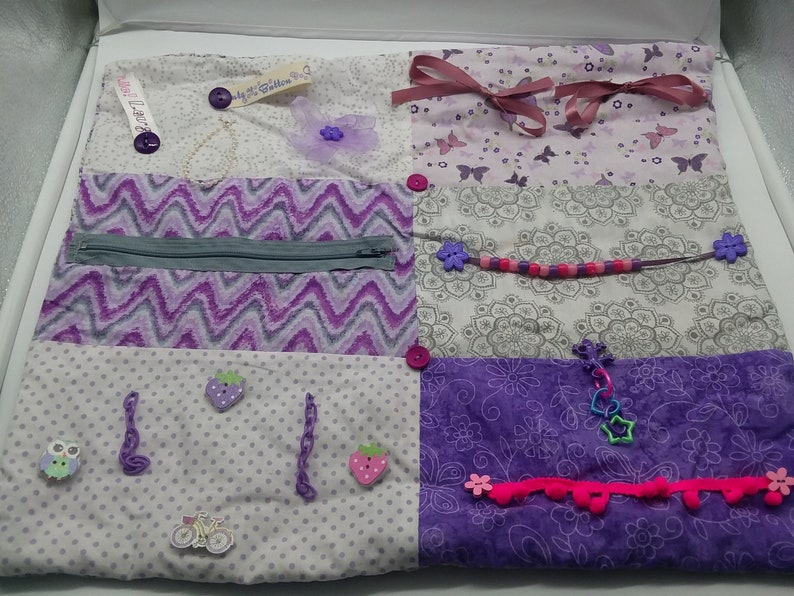 Fidget Quilt Alzheimer S Activity Blanket Easter Etsy