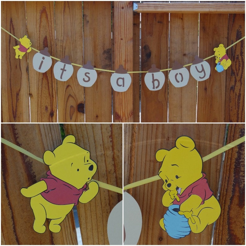 Winnie The Pooh Baby Shower Banner