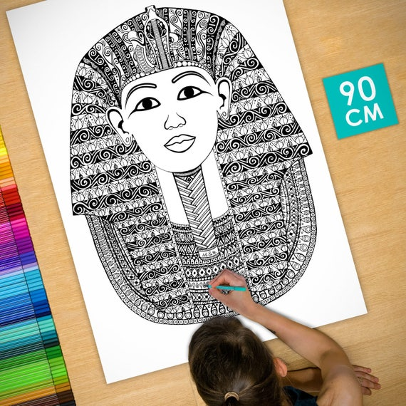 Coloring poster (35 in) T...