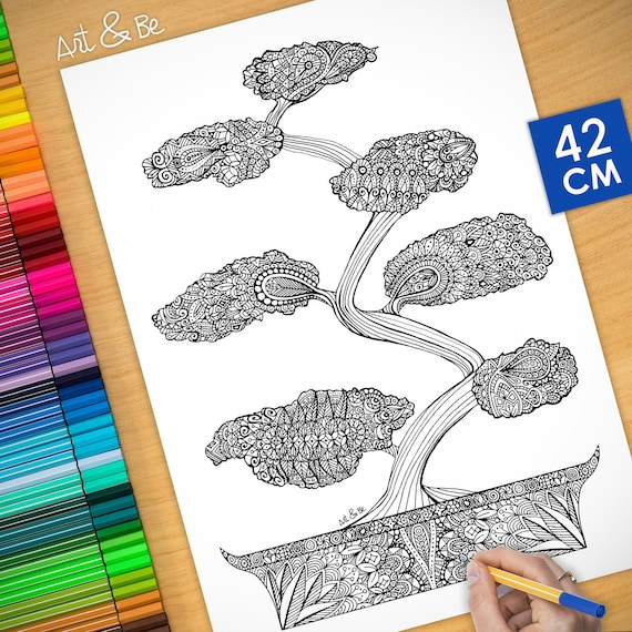 Coloring poster - JAPANES...