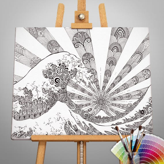 Canvas 50x70cm painting -...