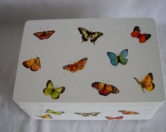 Butterfly Storage/Memory/Keepsake Box