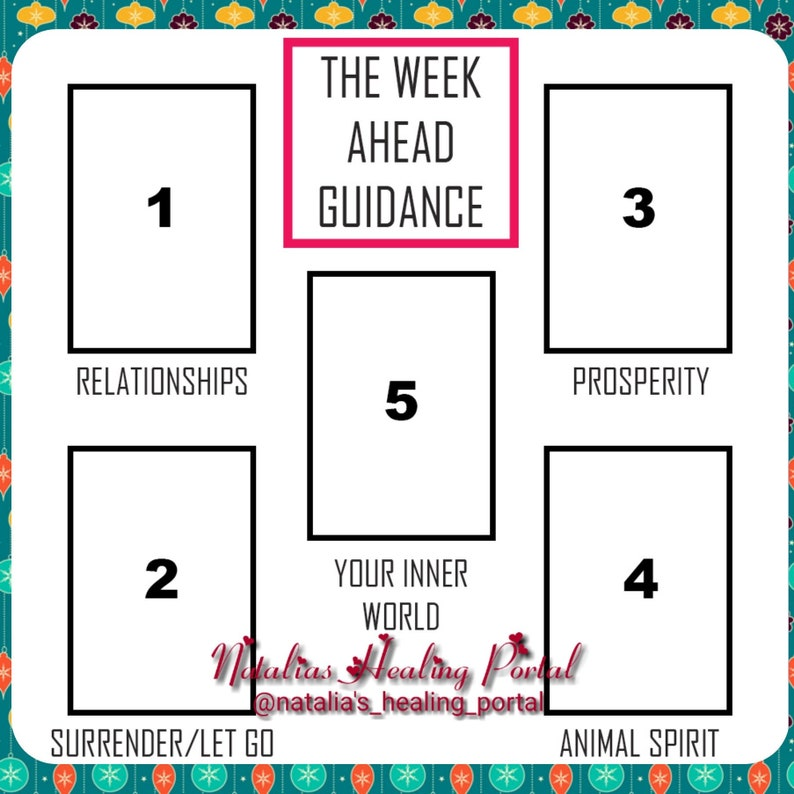 Same Day Angels and Oracle Messages - 5 cards spread to receive guidance  for the week ahead, relationship, prosperity, let go, animal spirit
